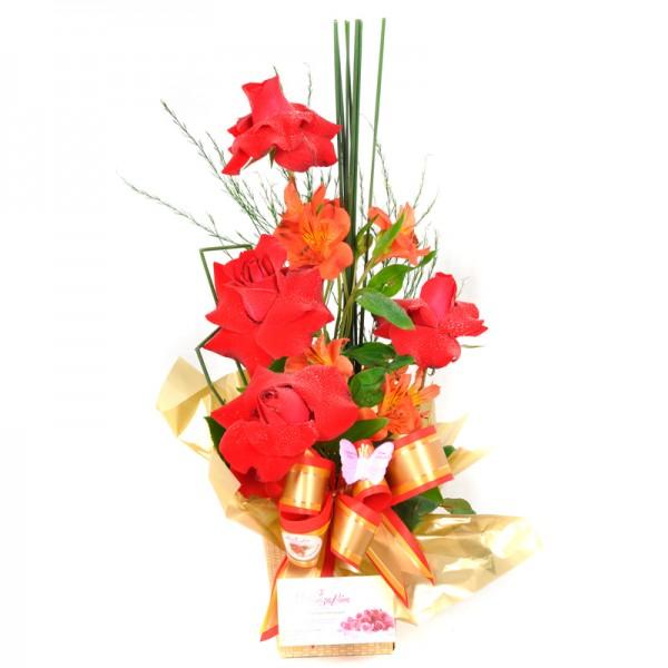 Arranjo Floral Natureza Red