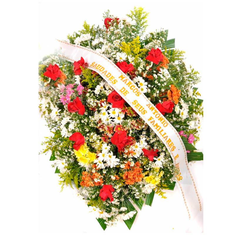 Populares Coroa de Flores Despedida JL62